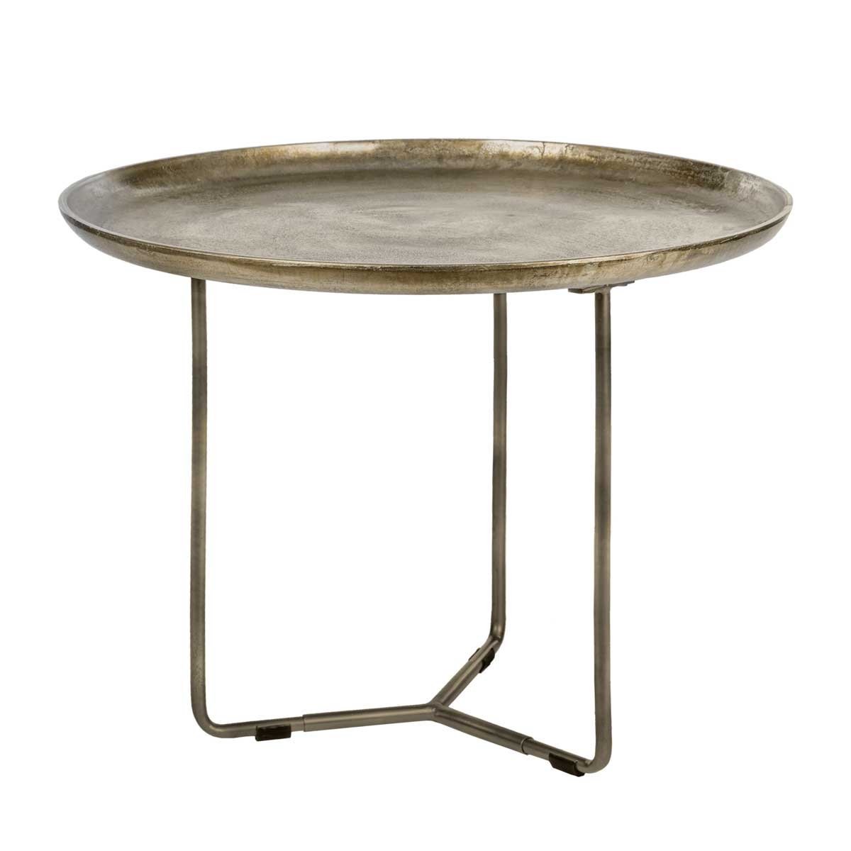 Riverdale Sidetable Ovaal.Sidetable Phyllon Bronze 75cm