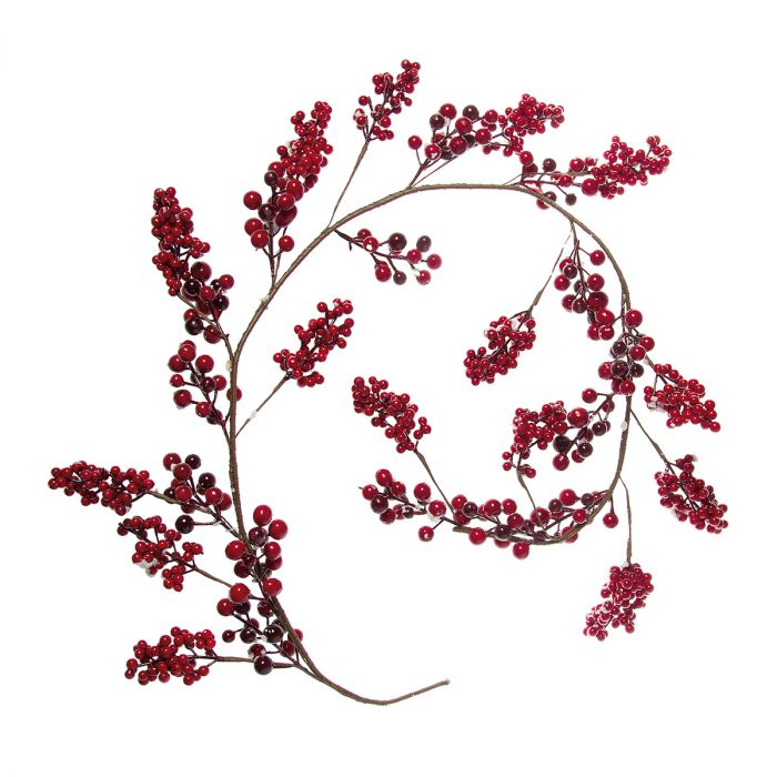 Garland-Berry-red-150cm