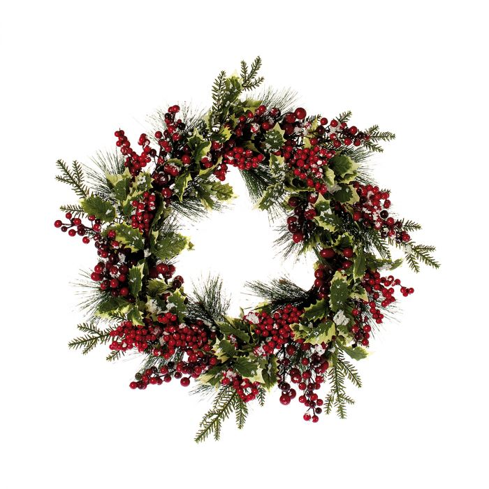 Wreath-Noël-red-60cm