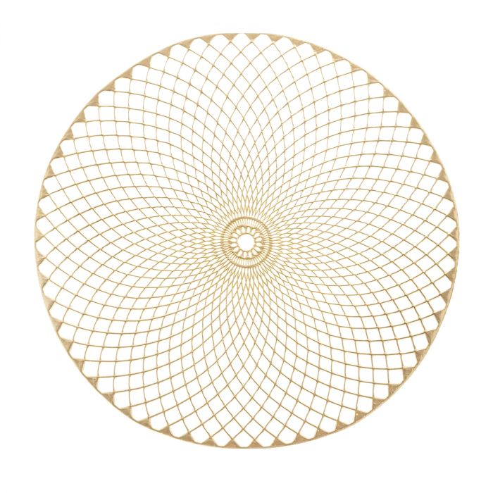 Placemat-Crystal-gold-38cm