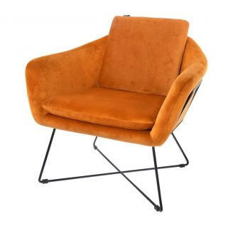 Fauteuil-Ridge-burnt-orange-82cm