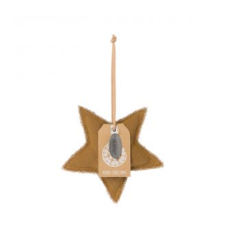 Pendant-Star-brown-13cm