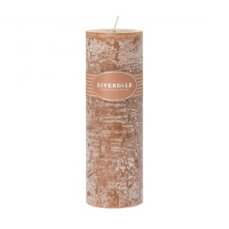 Candle-Pillar-brown-7.5x23cm