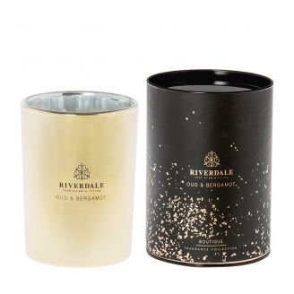 Scented-candle-Boutique-gold-15cm
