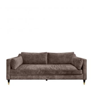 Sofa-2.5-seater-Maxim-coffee-221cm