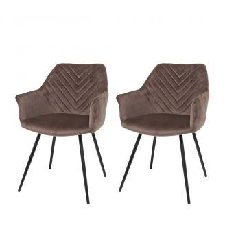 Dining-chair-1set/2-Lindy-taupe-80c