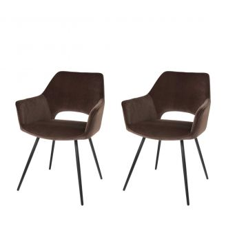 Dining-chair-1set2-Eve-taupe-80cm