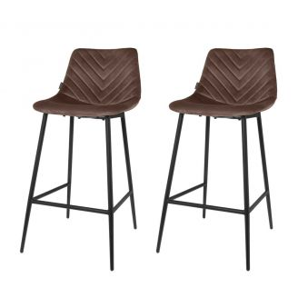 Bar-chair-1set/2-Lynn-taupe-96cm