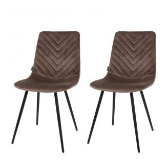 Dining-chair-1set/2-Lynn-taupe-83cm