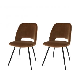 Dining-chair-1set2-Elja-mocha-82cm