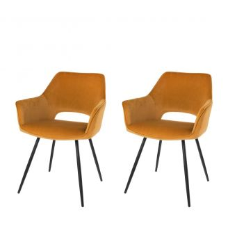 Dining-chair-1set2-Eve-caramel-80cm