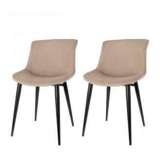 Dining-chair-1set/2-Elin-sand-80cm