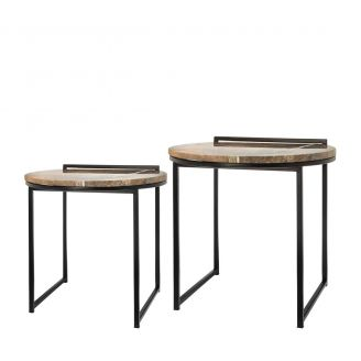 Side-table-set-Fre-marble-50cm