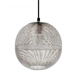 Lamp-hanging-Ise-silver-27cm