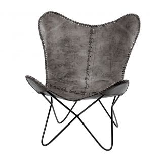 Butterflychair-Brooklyn-grey-90cm