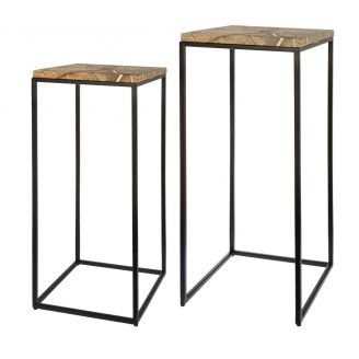 Side-table-set-Fre-marble-75cm
