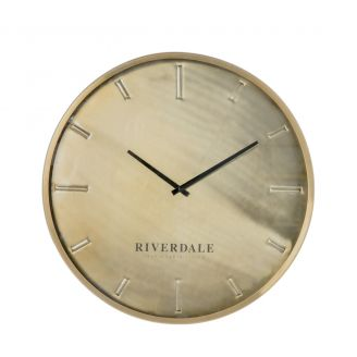 Wall-clock-Chuck-bronze-50cm-SO