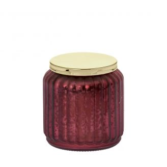Scented-candle-Noël-burgundy-9cm