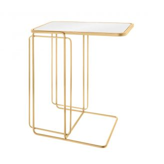 Side-table-Roma-gold-55cm