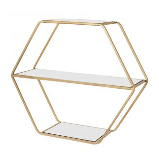 Etagere-rect.-Rocco-gold-55cm