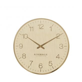 Wall-clock-Ritz-gold-40cm