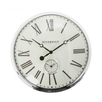 Wall-clock-London-silver-50cm