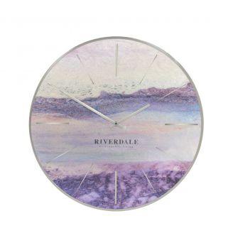 Wall-clock-Brixton-metallic-30cm