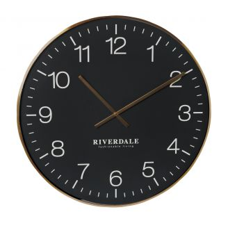 Wall-clock-Camden-black-75cm