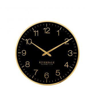 Wall-clock-Ritz-black-40cm