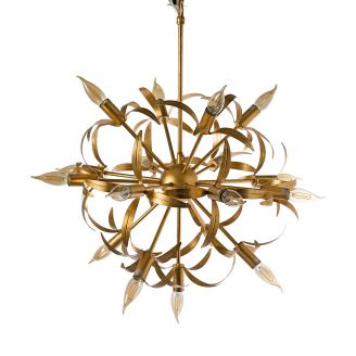 Lamp-hanging-Leafs-gold-75cm