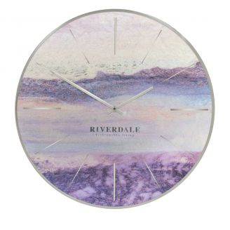 Wall-clock-Brixton-metallic-65cm