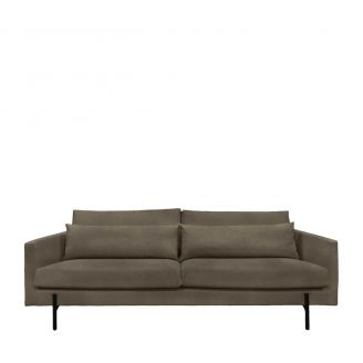 Sofa-Miller-3-seater-brown-232cm