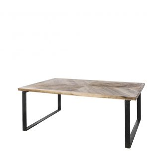 Diningtable-Luton-brown-200cm