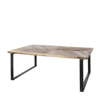 Diningtable-Luton-brown-220cm