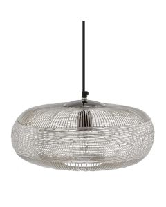 Lamp-hanging-Ise-silver-36cm