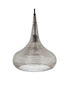 Lamp-hanging-Ise-silver-40cm