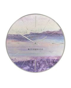 Wall-clock-Brixton-metallic-50cm